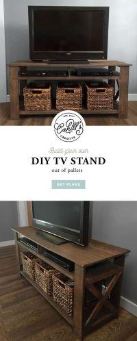 Best 25+ Diy tv stand ideas on Pinterest