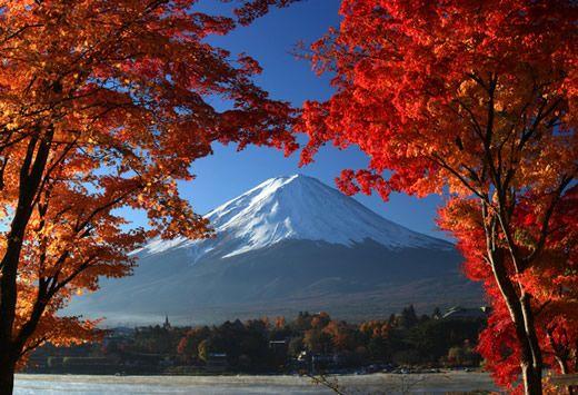 Wallpaper Primavera Hd Mount Fuji In Autumn Japan Hong Kong And Taiwan