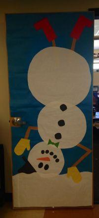 Winter Snowman Classroom Door | Classroom Door Decor ...