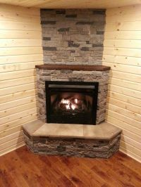 1000+ ideas about Corner Fireplace Mantels on Pinterest ...