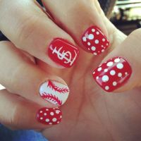 17 Best ideas about Baseball Nail Designs on Pinterest ...