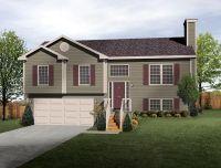 Split Level House Plan- exterior colors | DIY Home ...