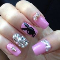 playboy nails | Nails | Pinterest | Nails and Playboy