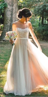 17 Best ideas about Cotton Wedding Dresses on Pinterest ...