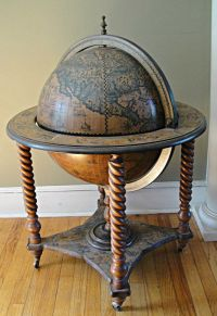 How To Make A Globe Liquor Cabinet - WoodWorking Projects ...