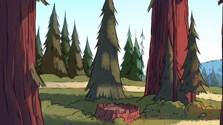 Screenshot Wallpaper Gravity Falls Gravity Falls Background Art Gravity Falls Background