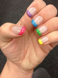 Shellac Spring Colored French tips -- I got Nailed by ...