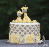 17 Best ideas about Baby Shower Giraffe on Pinterest