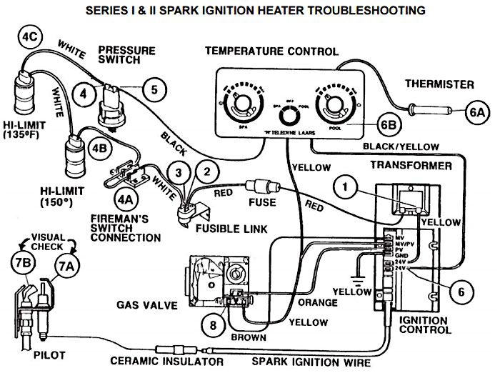 the above wiring diagram shows the complete electronic wiring