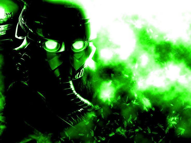 Cigarette Wallpaper Hd Neon Green Smoke In Neon Green Smoke Image Gas Mask
