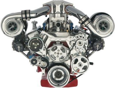 engine | Banks Power | >>Twin-Turbo Engine | hardsurfacythngs | Pinterest | Ford svt, Engine and ...
