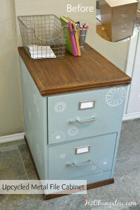 1000+ ideas about Filing Cabinet Desk on Pinterest | File ...