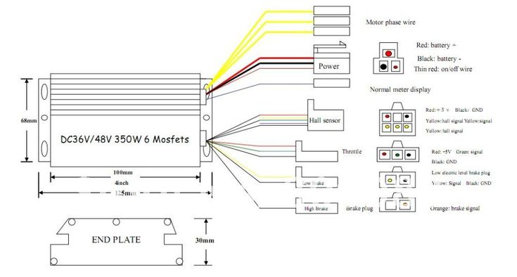 bike motor wiring diagram