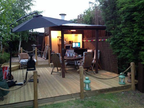 31 best images about Backyard Bar Sheds on Pinterest