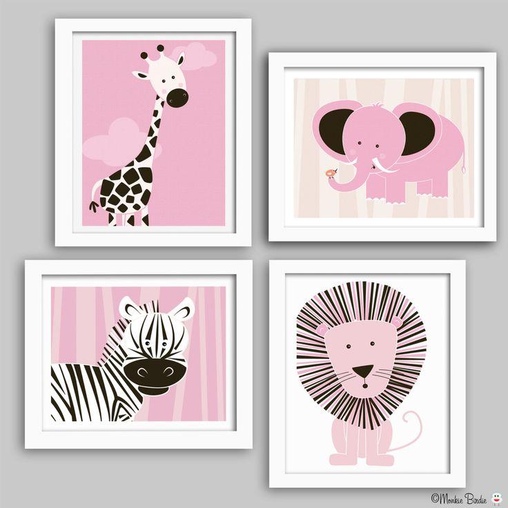 Nursery wall art, baby nursery decor, nursery print