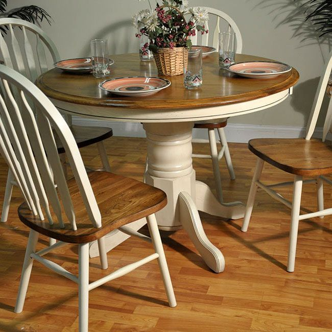 25+ best ideas about Painted Oak Table on Pinterest