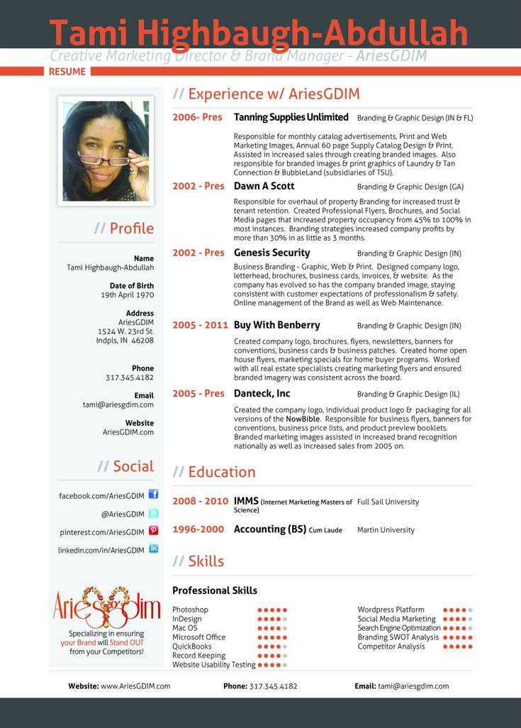 online resume website