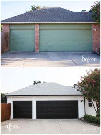 25+ Best Ideas about Black Garage Doors on Pinterest ...