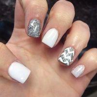 white cute nail designs - Google Search | Nail Ideas ...