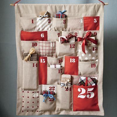 Christmas Sewn Advent Calendar