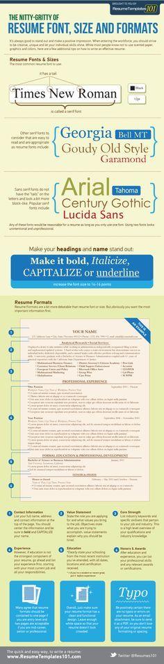resume font tips resume cv resume free resume fonts font size - font and size for resume