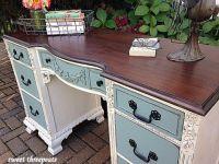 25+ best ideas about Painted Desks on Pinterest
