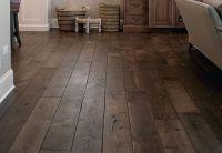 Smoked Black Oak Wide Plank Hardwood Floors | Hardwood ...