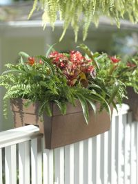 25+ best ideas about Deck railing planters on Pinterest ...