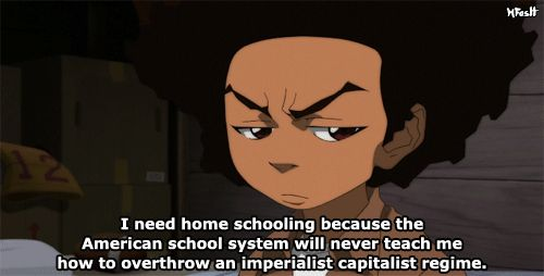 Superb Wallpapers With Quotes For Facebook The Boondocks Cas Revolutionaries And Black