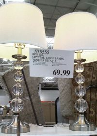 Crystal Table Lamps from Costco | Tween to Teen Girl's ...