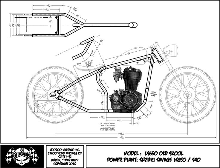 mini chopper motorcycle wiring diagram