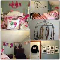 70 best images about Girls bedrooms on Pinterest   Pink ...