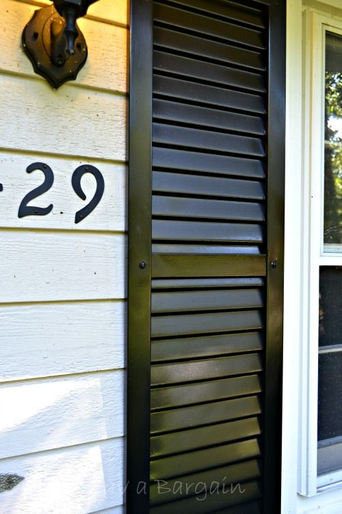 1000+ Ideas About Painting Shutters On Pinterest   Shutter Colors