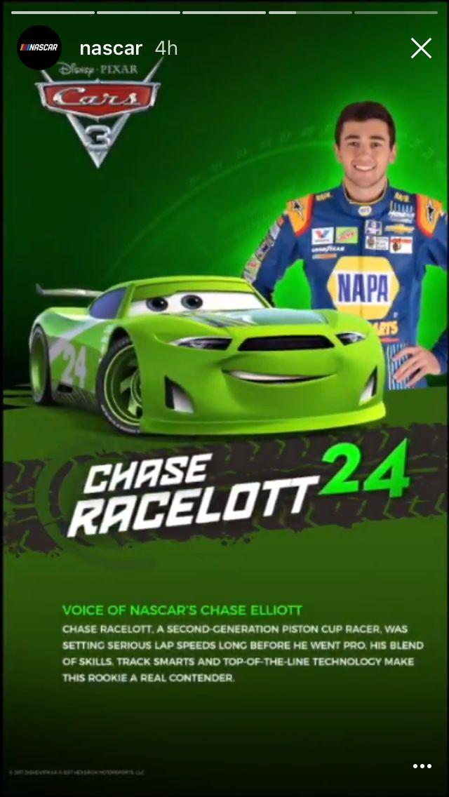 Chase Elliott 2017 Car Wallpaper Chase Elliott Is Going To Be Chase Racelott In Cars 3