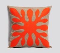 Decorative Hawaiian Pillow Cover ALOHA - fall orange ...