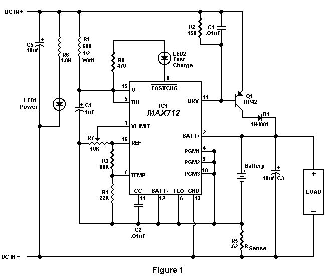 inverter charger circuit for science project electronic circuit