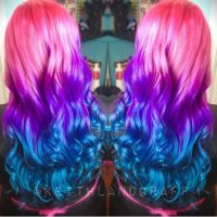 1000+ ideas about Blue And Pink Hair on Pinterest   Dip ...