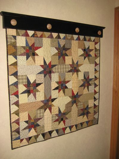 Amish Quilt Racks Woodworking Projects Plans