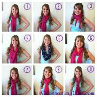 17 Best images about Scarf Tying on Pinterest | Videos ...