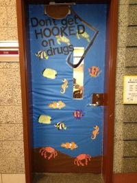 Drug Awareness Week...door decorating contest | Teaching ...