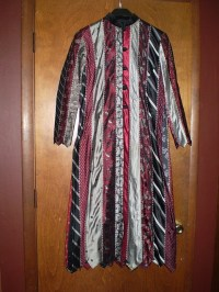 tie coat