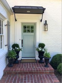 25+ best Front door awning ideas on Pinterest | Metal ...