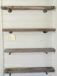 Best 25+ Industrial pipe shelves ideas on Pinterest | Pipe ...