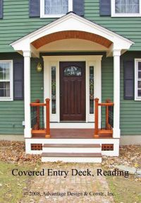 front door pictures ideas | Entry deck in Reading, MA ...