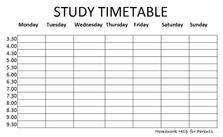 Weekly Calendar Sunday To Saturday The Christian Holy Day Saturday Or Sunday Blank Study Timetable Calendar Template 2016