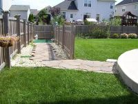 A good looking backyard toilet area for dogs | Dogscaping ...