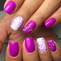 25+ best ideas about Purple Nail Designs on Pinterest ...