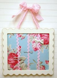 Hair Bow Holder Ideas--really pretty but not big enough ...