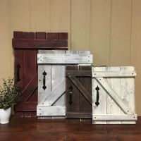 Mini Barn Door Wall Hanging Rustic Gallery by ...