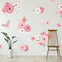 25+ best ideas about Flower wall decals on Pinterest ...